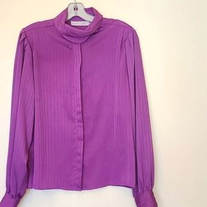 LAURA AND JAYNE  WOMEN'S BUTTON DOWN BLOUSE